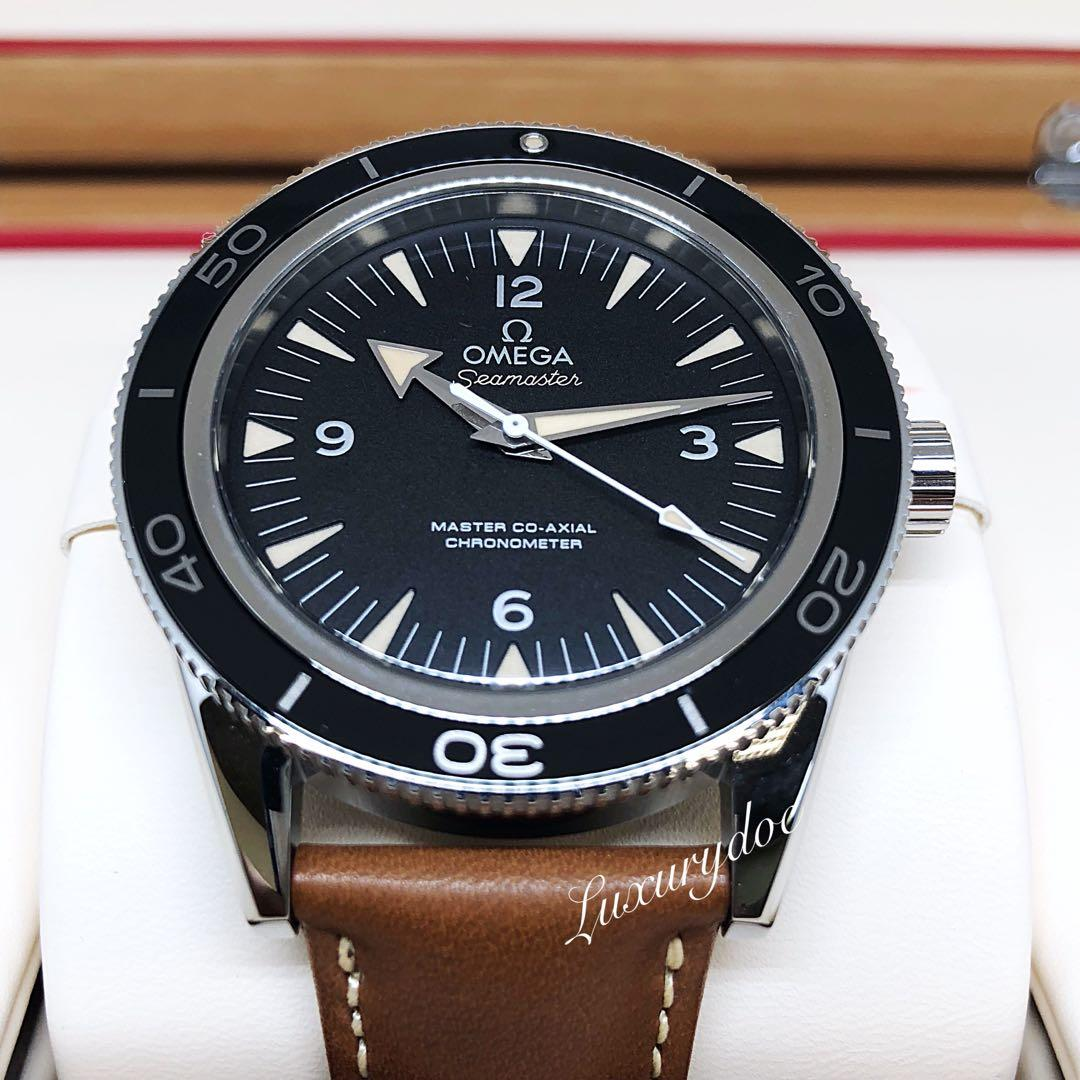 FS.BNIB OMEGA SEAMASTER 300 MASTER CO-AXIAL AUTOMATIC 41MM WATCH 233.32.41.21.01.002