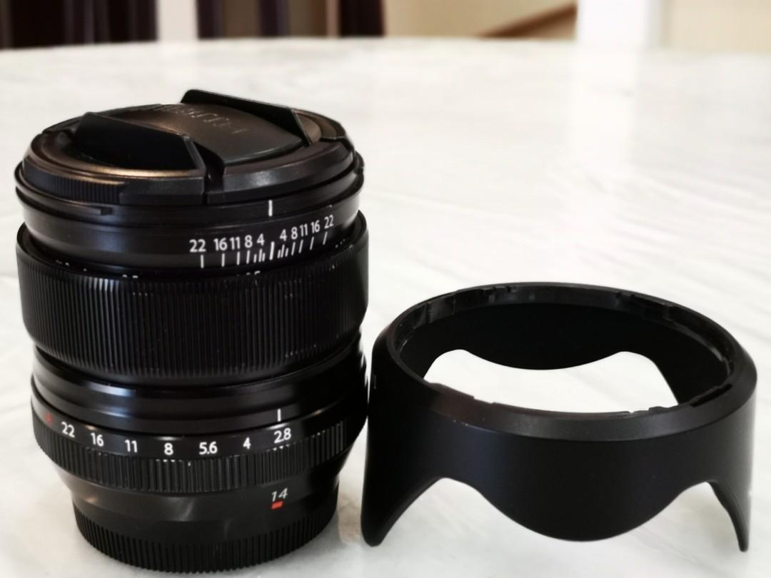 Fuji 14mm/f2 8 XF (X-mount), Photography, Lenses on Carousell
