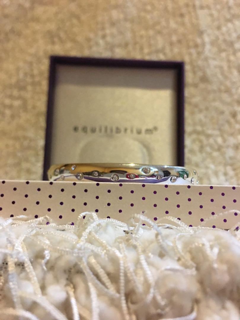 Gelang perak ukiran dengan pesan cinta / lovely message silver braclet