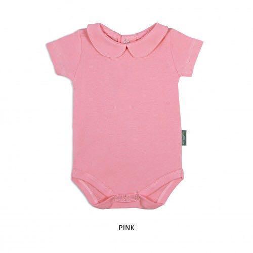 Girl Collar Bodysuit (Pink)