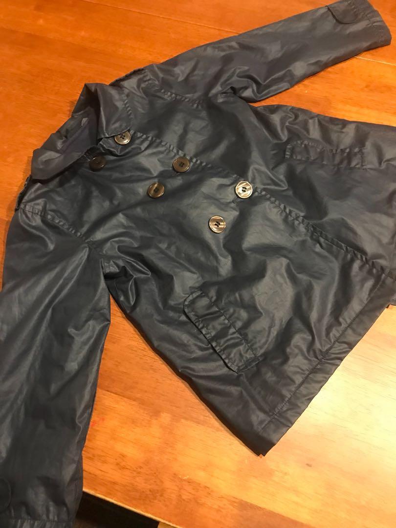 Girls Trench Coat Kids Windbreaker Autumn Jackets For 4Y-5Y