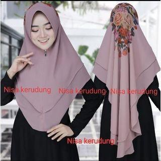 Hijab lukis instan hrga net