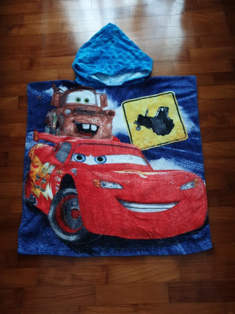 Hooded Towel-Cars Disney desigm