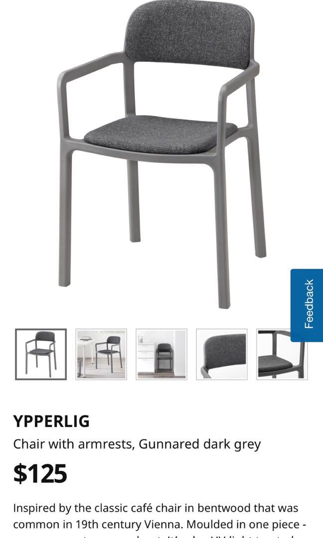 Ikea Ypperlig Arm Chair Furniture Tables Chairs On Carousell