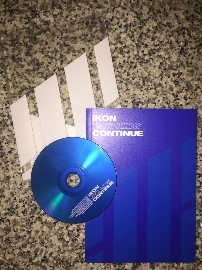 iKON NEW KIDS : CONTINUE Version BLUE