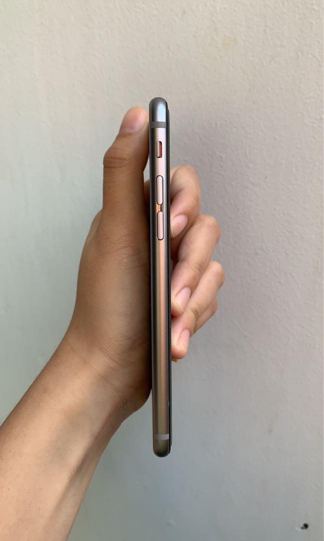 iphone 6 64GB Space Grey Mulus Original