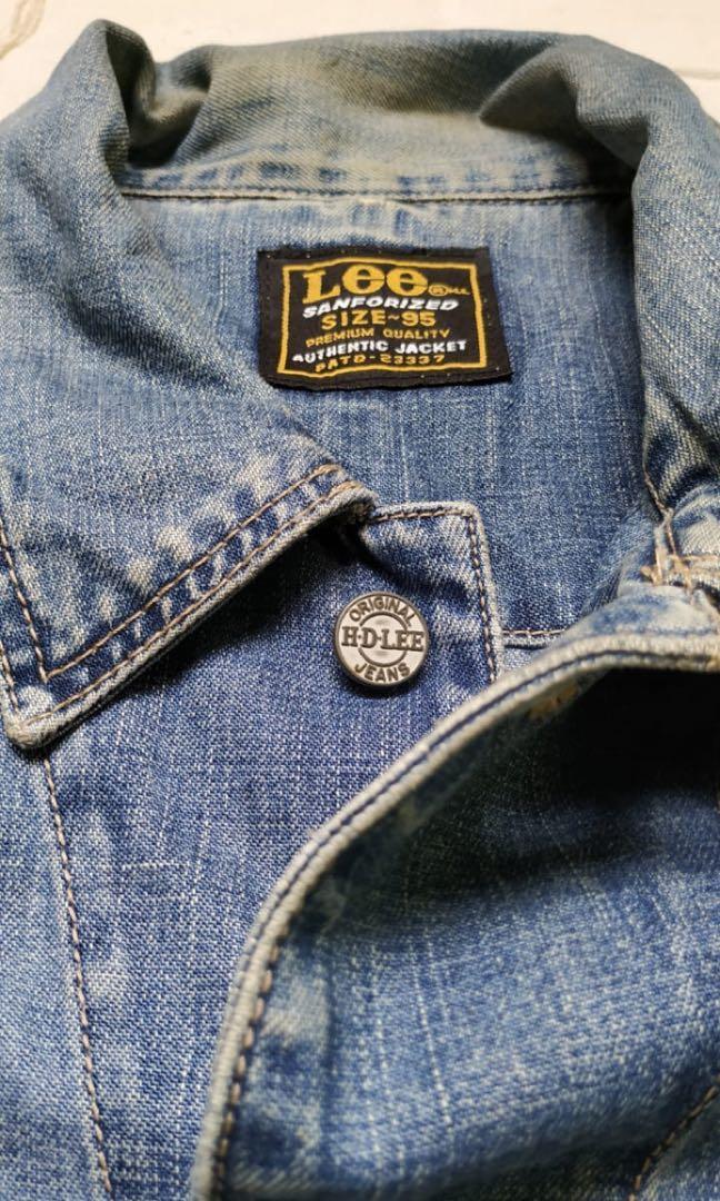 Jacket Denim Trucker Lee Vintage (unisex)