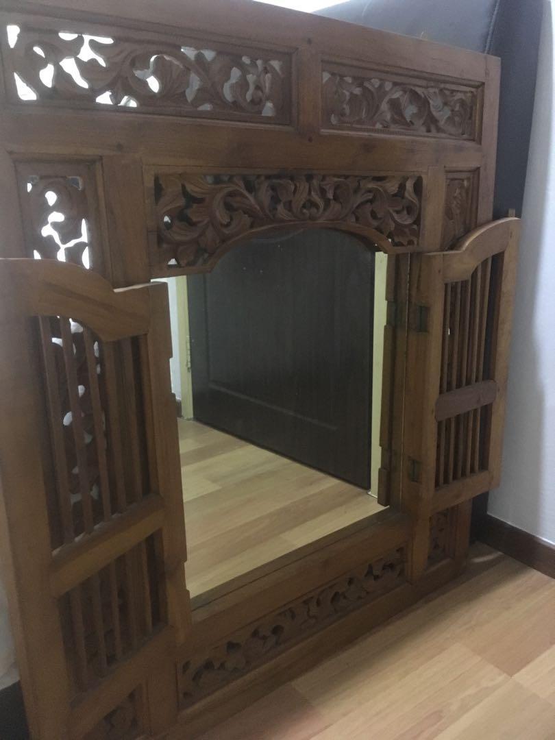 Jati Wall Mirror
