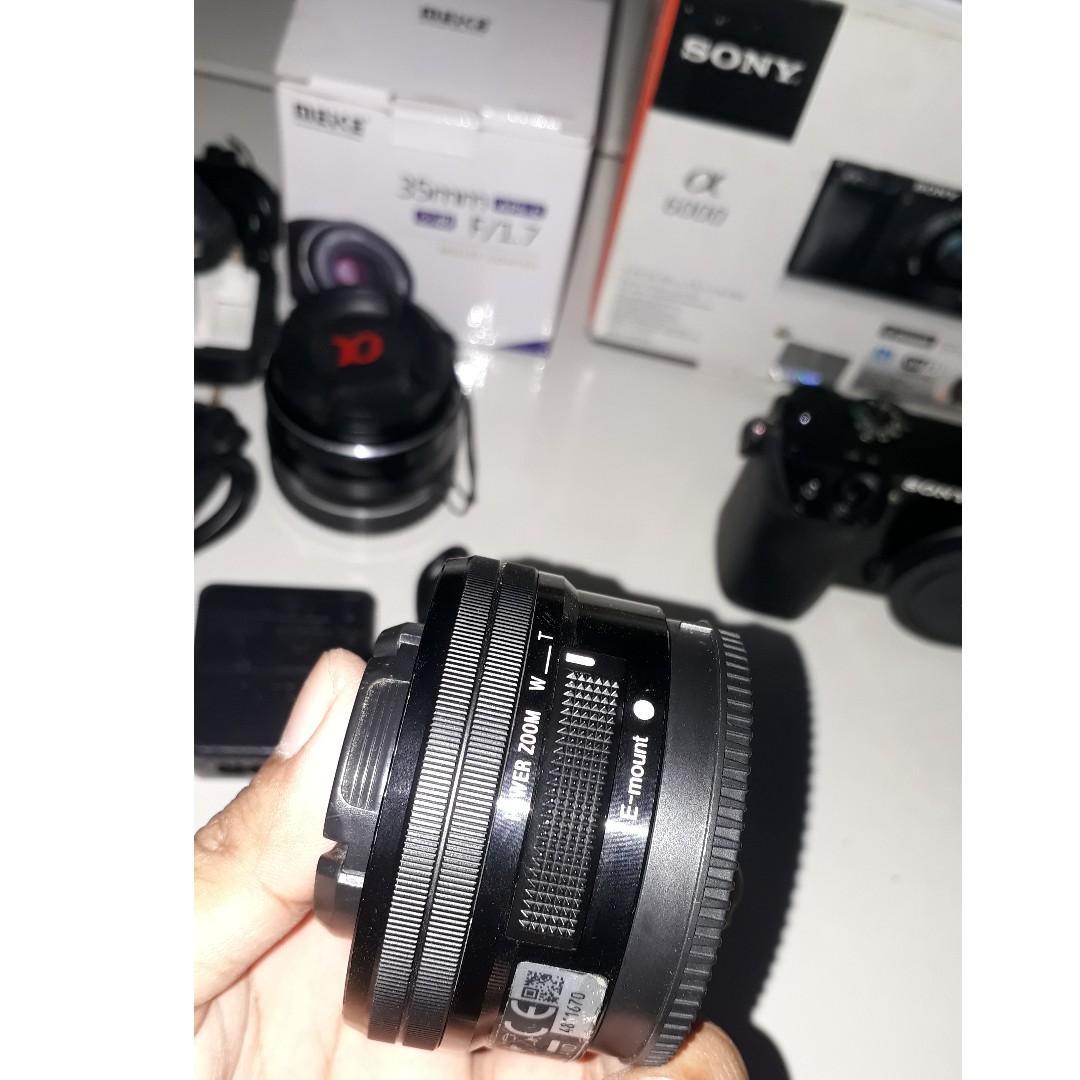 Jual Sony A6000 dan Mike 35mm lens