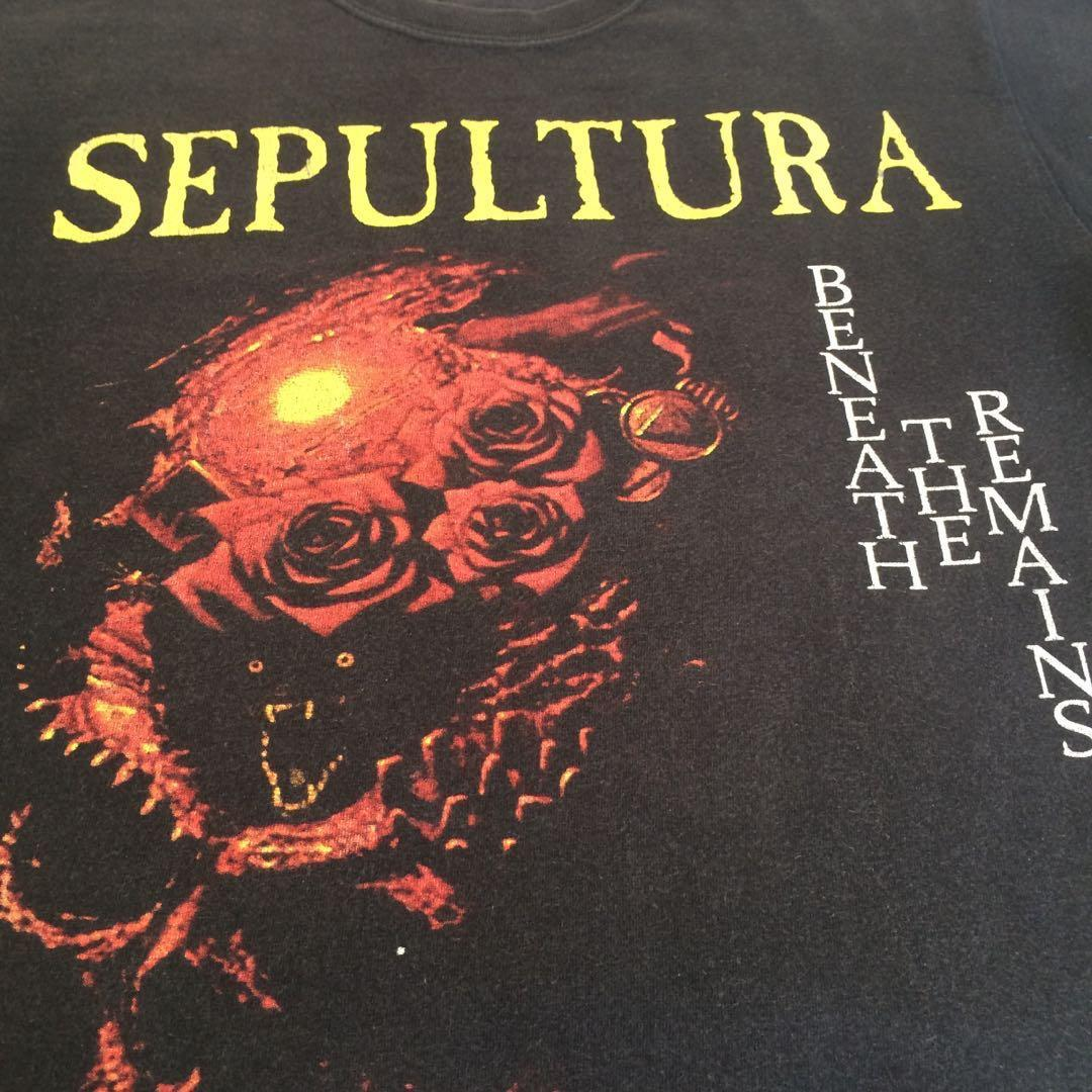 Kaos Band Sepultura - Beneath The Remains #maujam