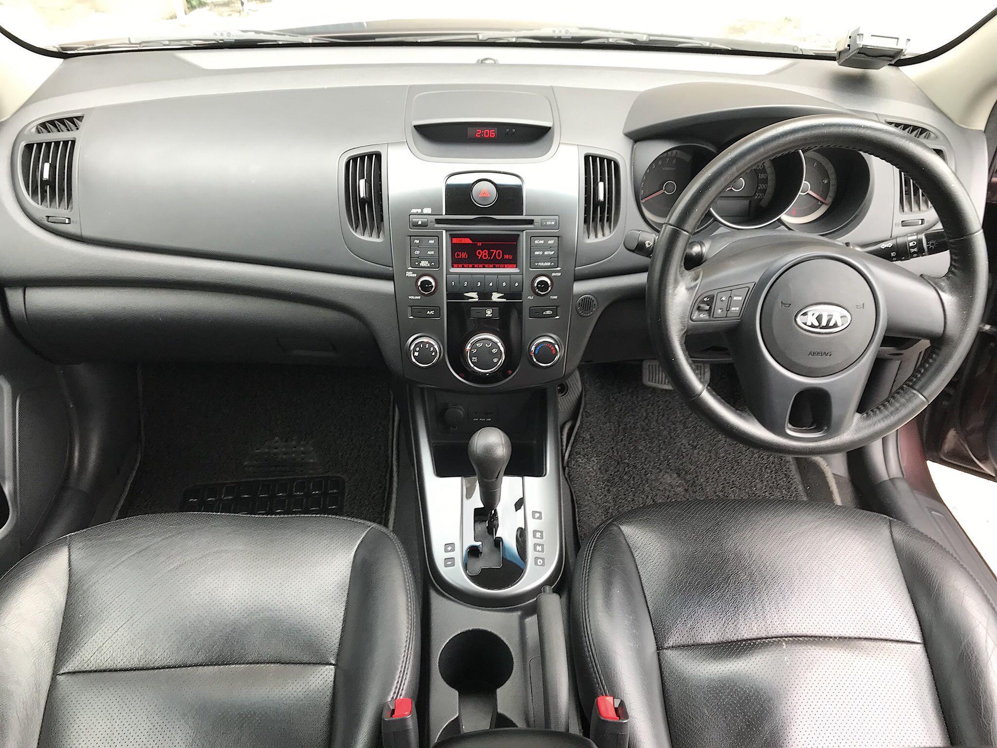 Kia Cerato Forte 1.6 SX with Sportstronic Auto