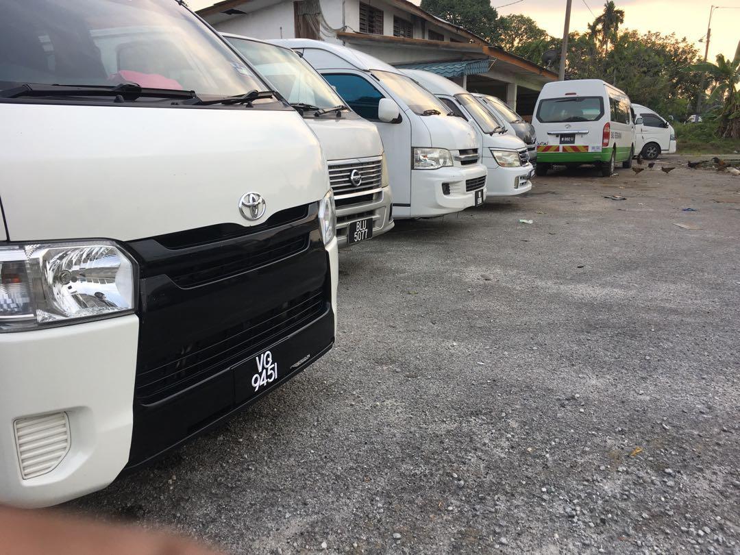 klia taxi / airport taxi / airport van / city tour van/ family van