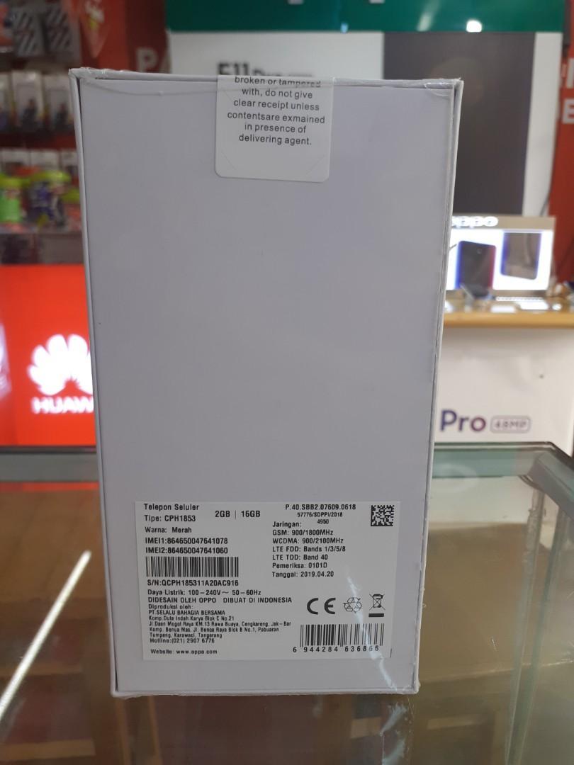 Kredit Oppo A3s Ram 2/16Gb Gratis 2x Cicilan