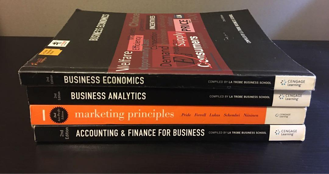La Trobe Accounting & Finance for Business 2nd Edition Textbook