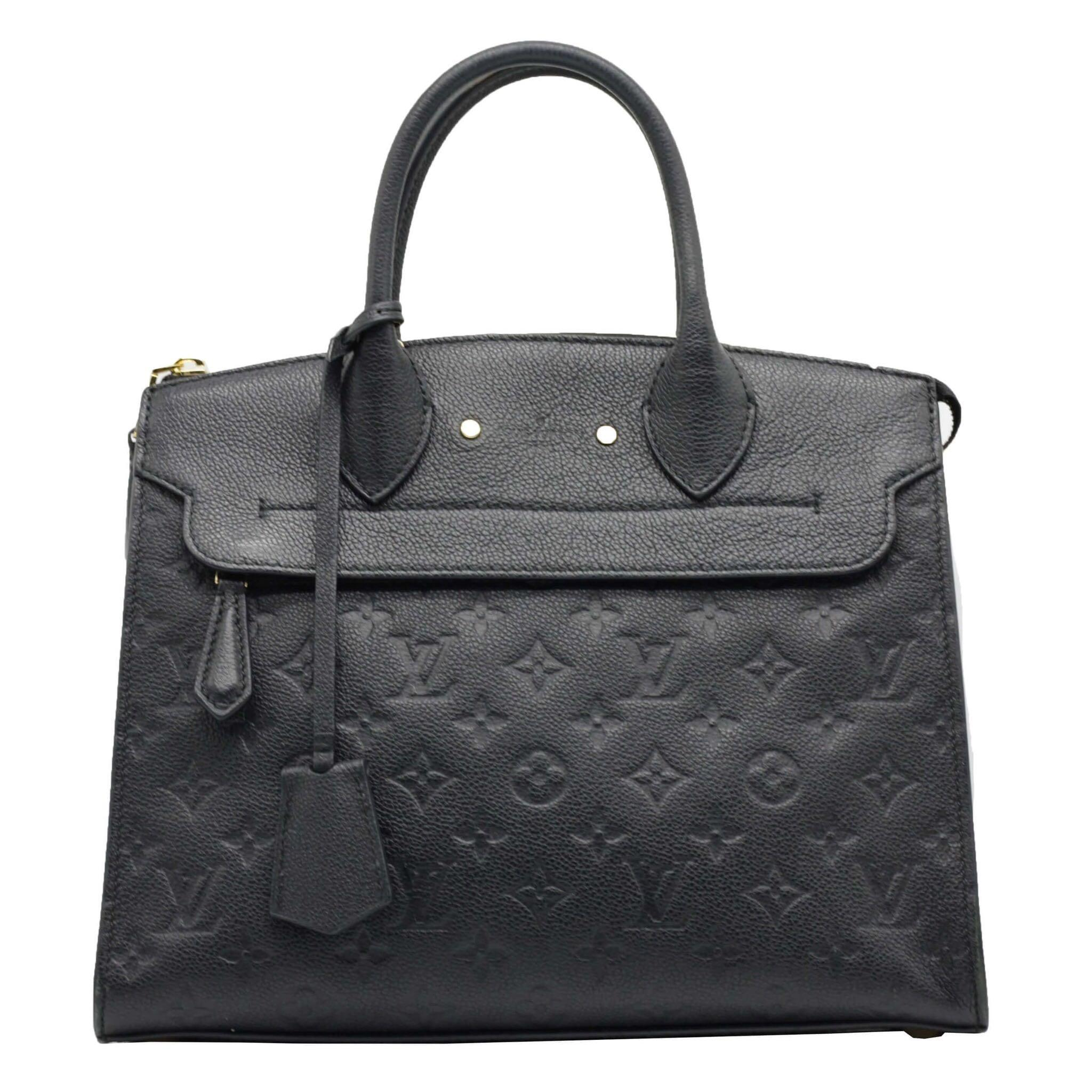 LOUIS VUITTON Monogram Empreinte Leather Pont Neuf MM Bag