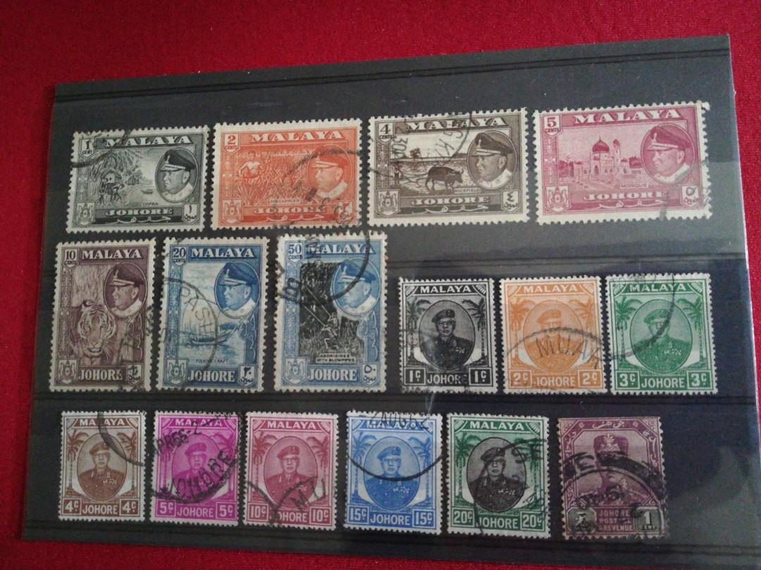 MALAYA (Honor) stamps 16v