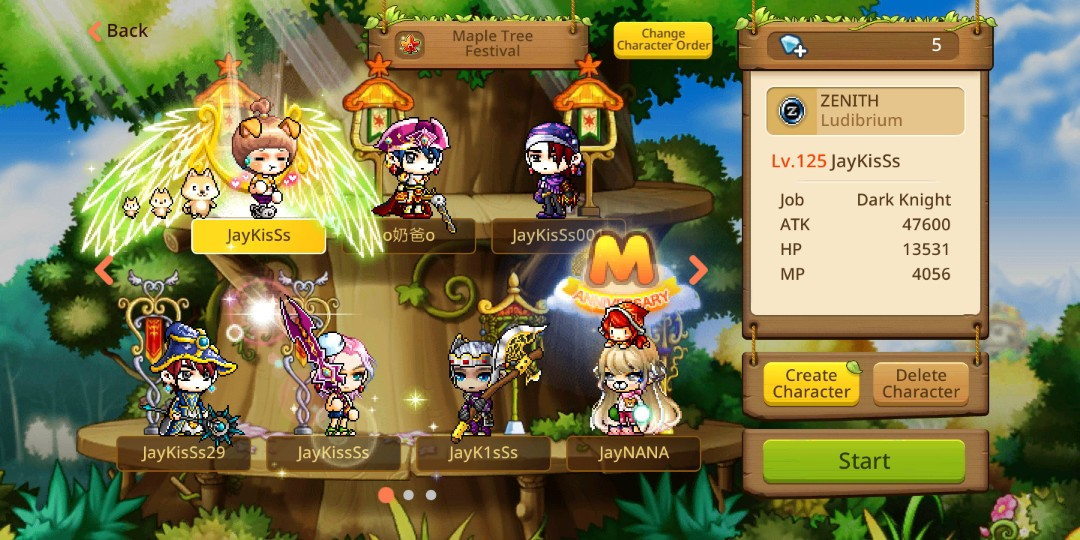 Maplestory M account $70 fast deal