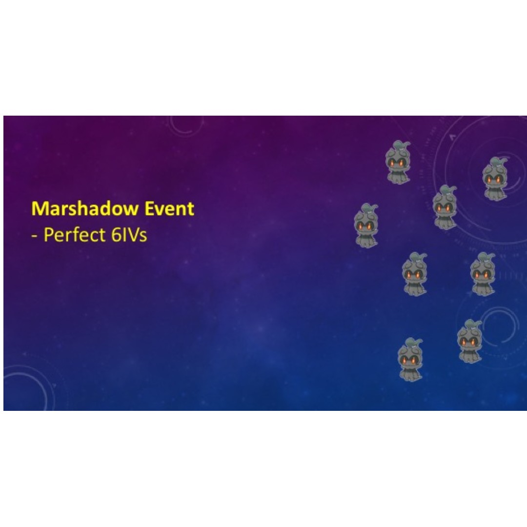 Marshadow Event pokemon, Toys & Games, Video Gaming, In-Game