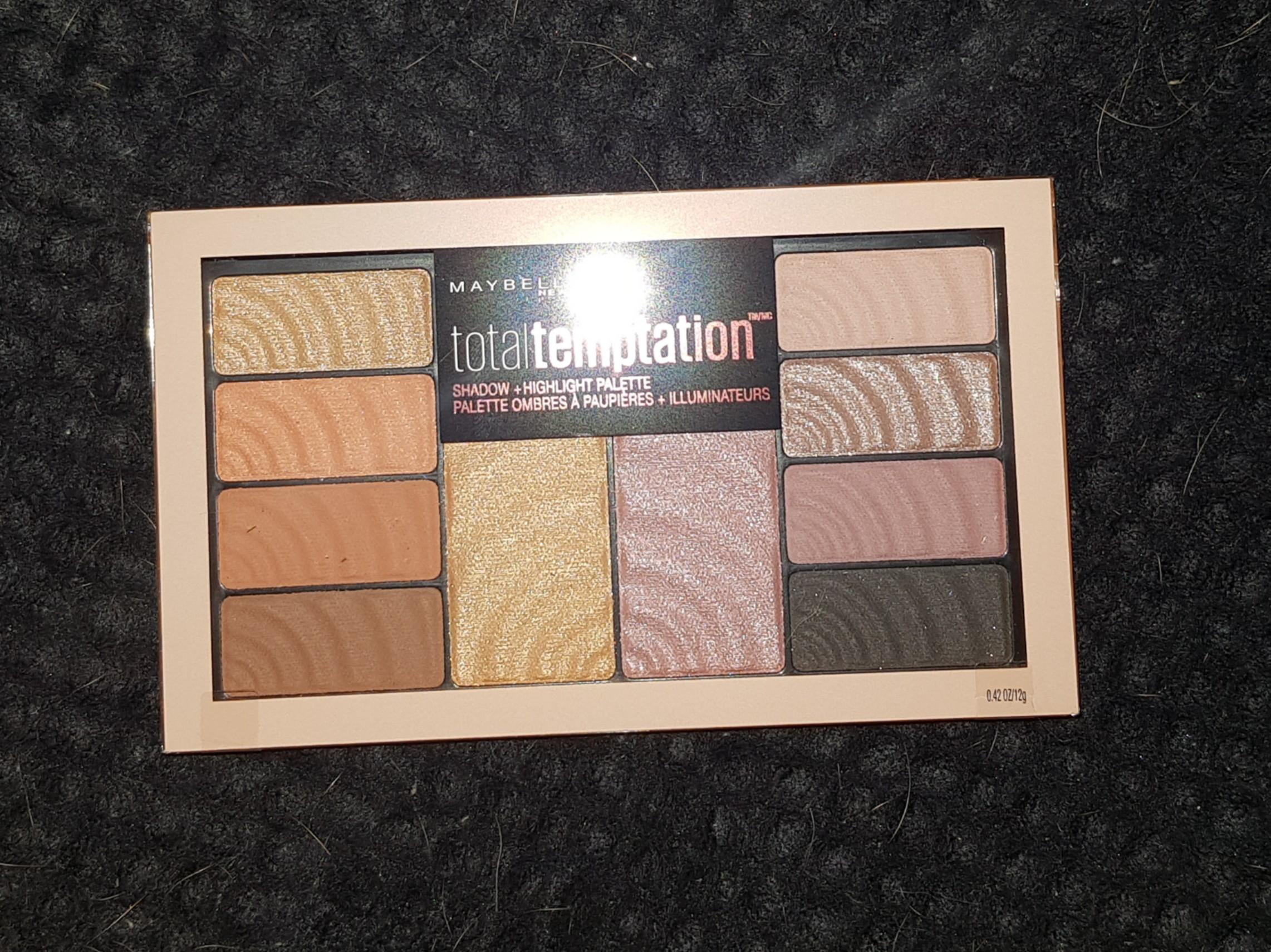Maybelline total temptations pallet. Negotiable price