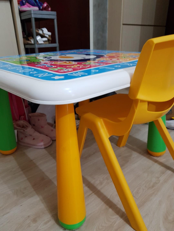 Meja anak,meja belajar puku,meja tulis anak