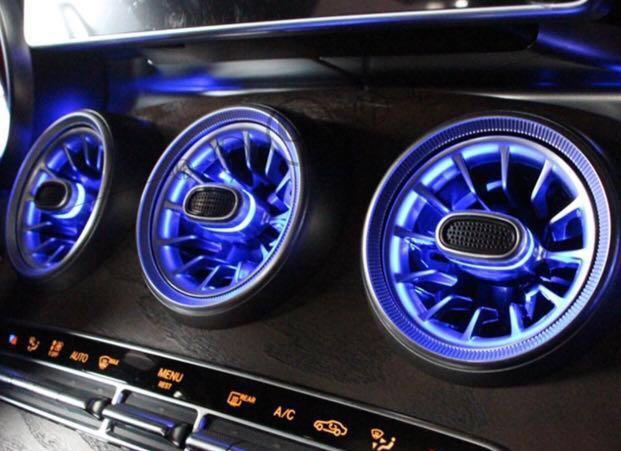 Mercedes Benz Led Air Con Turbine Vents