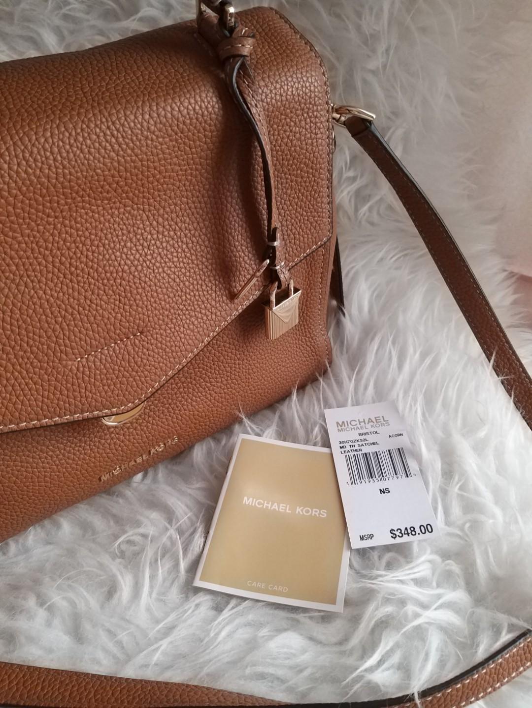 Michael Kors MK Bristol Leather Bag