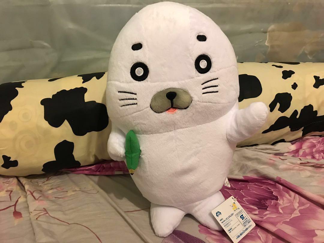 Namco小狗 海獅公仔