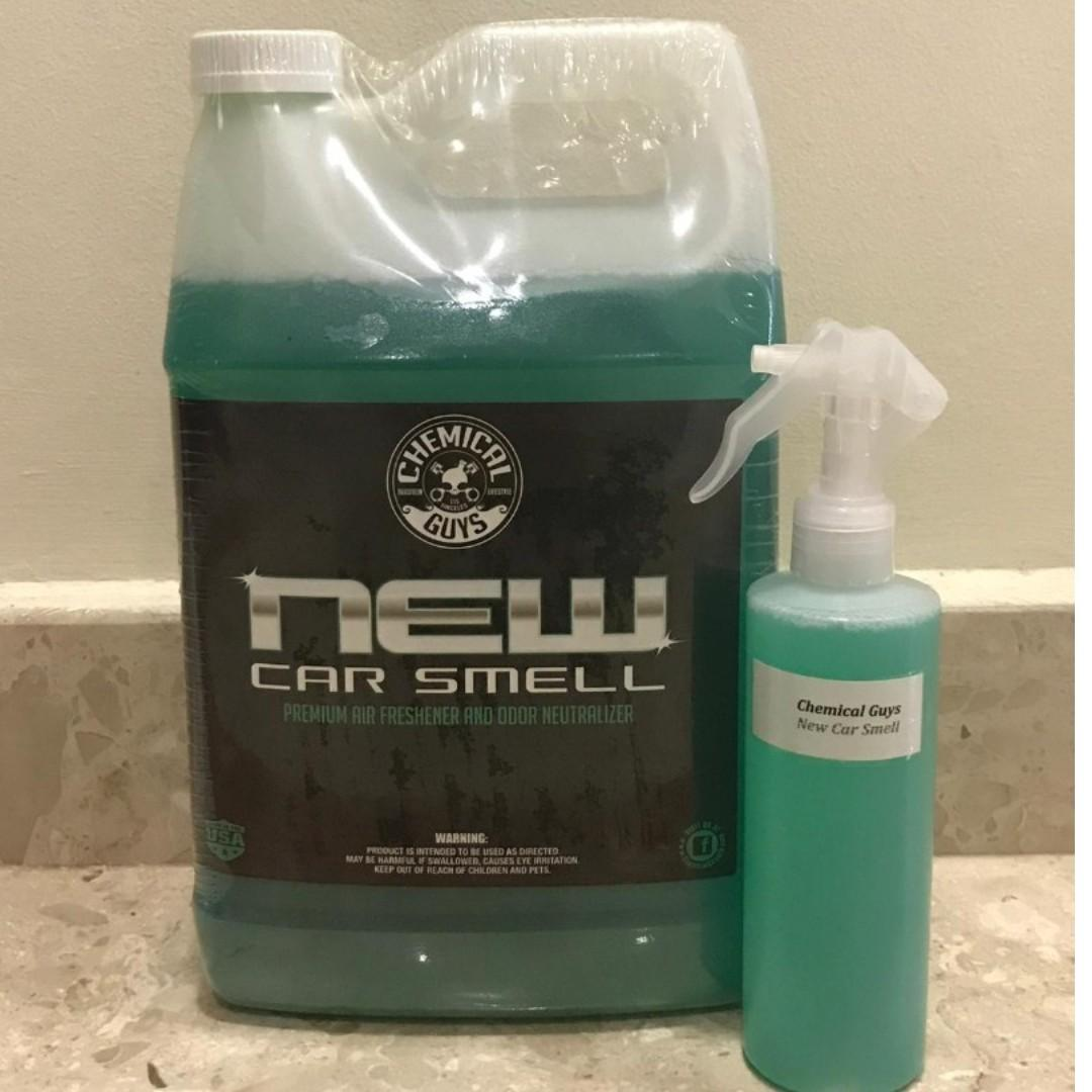 New Car Smell and Odor Eliminator by Chemical Guys, Car
