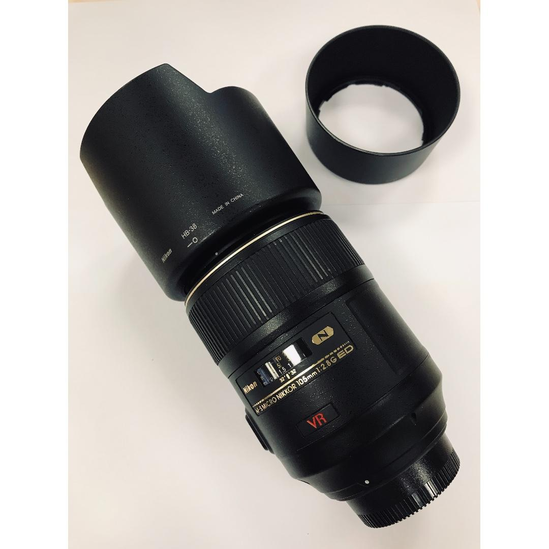 Nikon AF-S Micro-Nikkor 105mm f/2.8G IF-ED 鏡頭