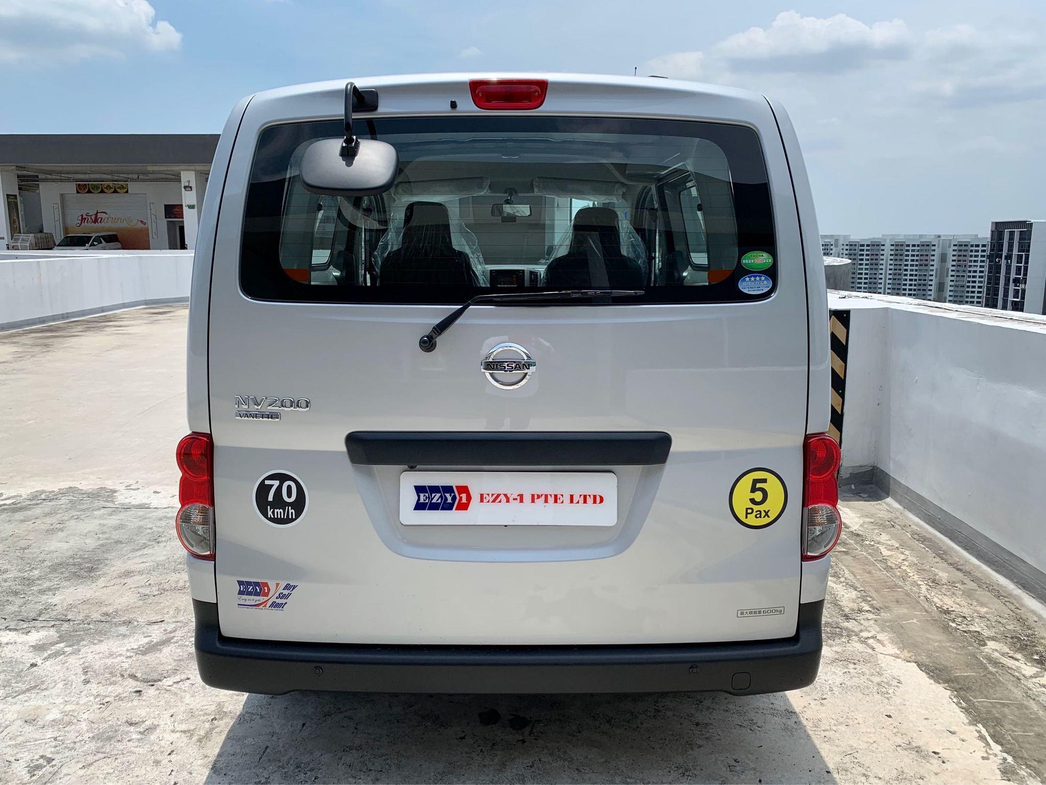 NISSAN NV200 1.6DX VANETTE AUTO