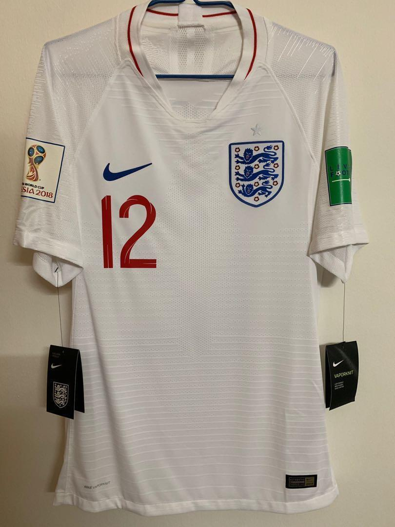 England World Cup Jersey 2020.Official Nike Authentic England Home 2018 2020 World Cup