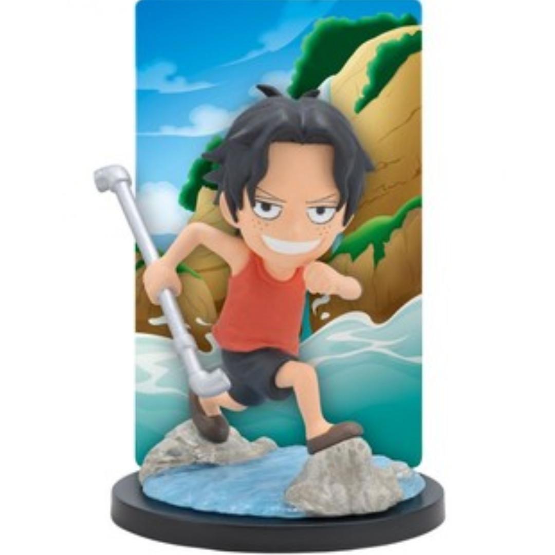 One Piece Portgas D. Ace Ichiban Kuji Opening a New Era Card Stand Figure (Banpresto) #CarouRaya