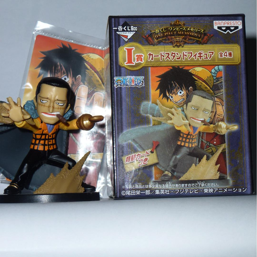 One Piece Sir Crocodile Card Stand Figure Ichiban #CarouRaya