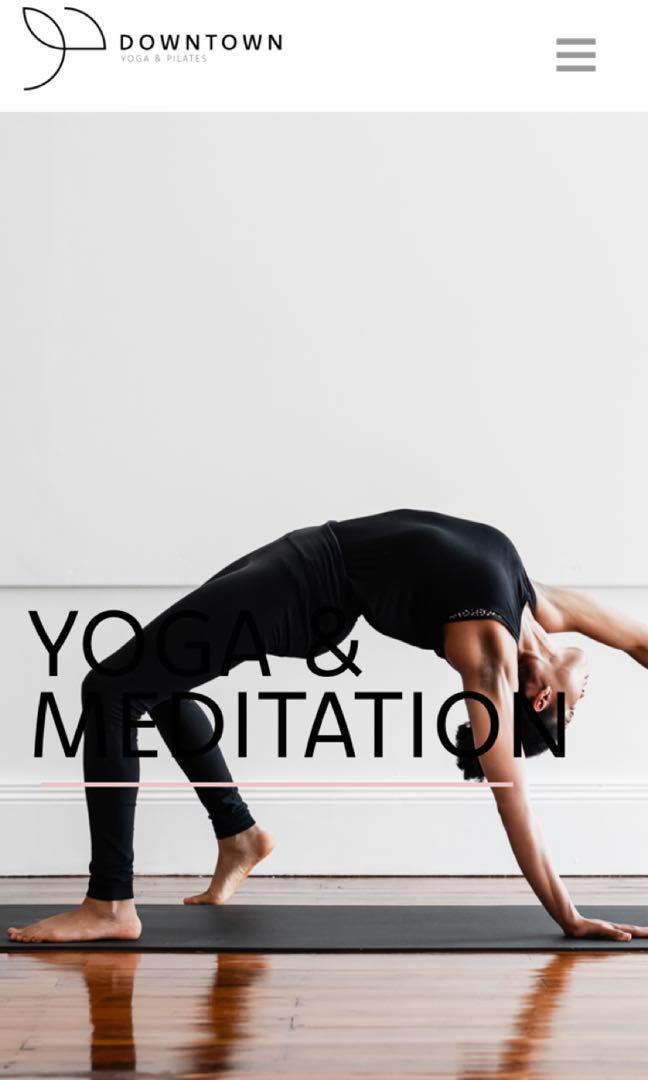 Pilates, Yoga & More
