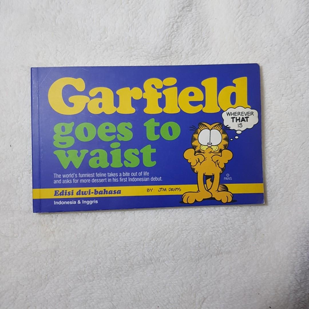 #ramadansale Imported English Garfield Comics and Novel
