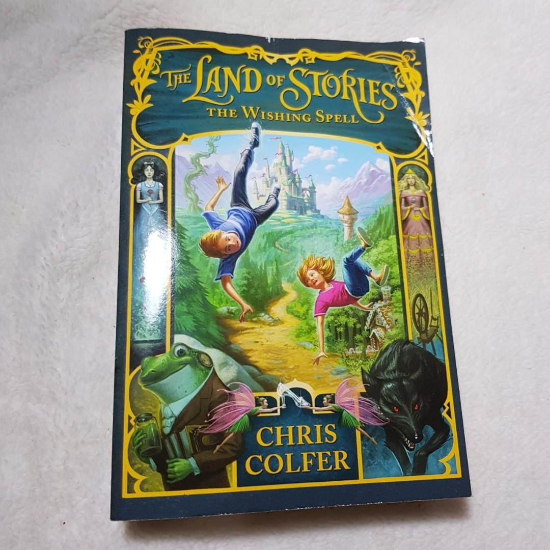 #ramadansale [Paperback] The Land of Stories#1 - The Wishing Spell - Chris Colfer (Imported English Novel)
