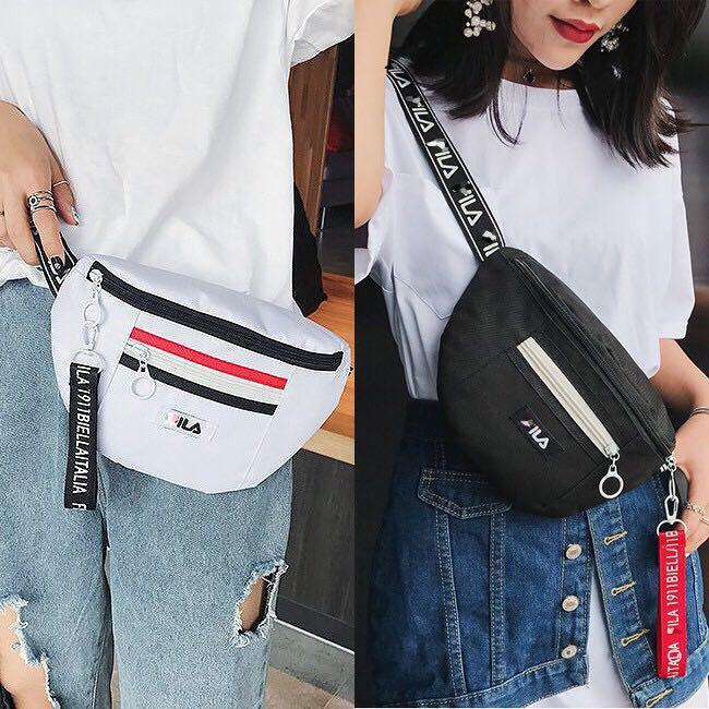 READY STOCK💝 Fabian ILA Chest Bag Backpack Shoulder Beg Sling Bags Fashion