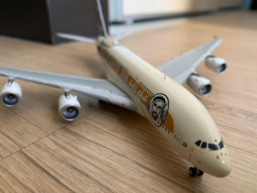Widebody Non A380 1//200 Scale Planes Gemini Wood and Metal Stand for Medium