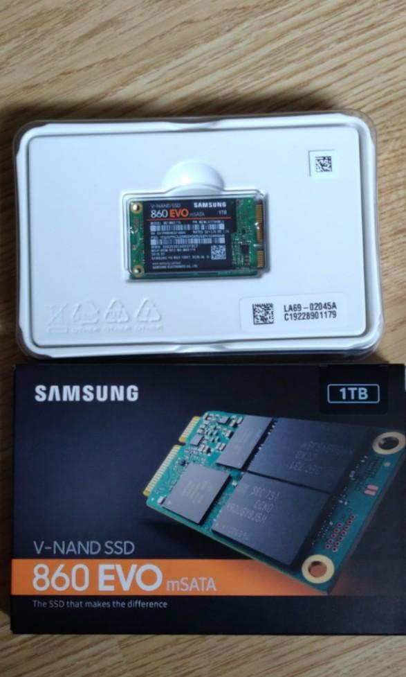 Samsung 860 Evo msata ssd