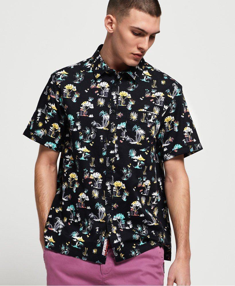Seattle Skate shirt in Akio Black