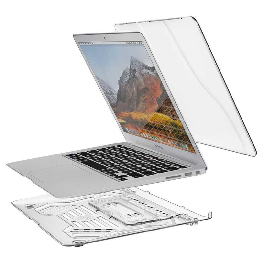 Shockproof Armor Case with Stand Macbook Air 13 Inch A1369 A1466 C2394 titangadget