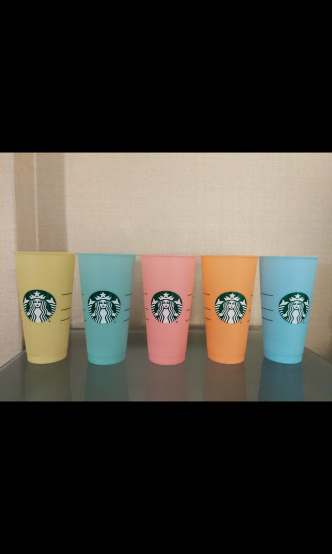 cae2da22eb4 STARBUCKS colour changing cold cup.