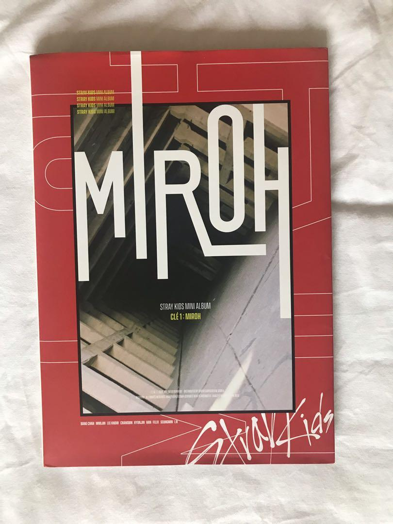 Stray Kids Clé1:MIROH Limited Version (Woojin Page)