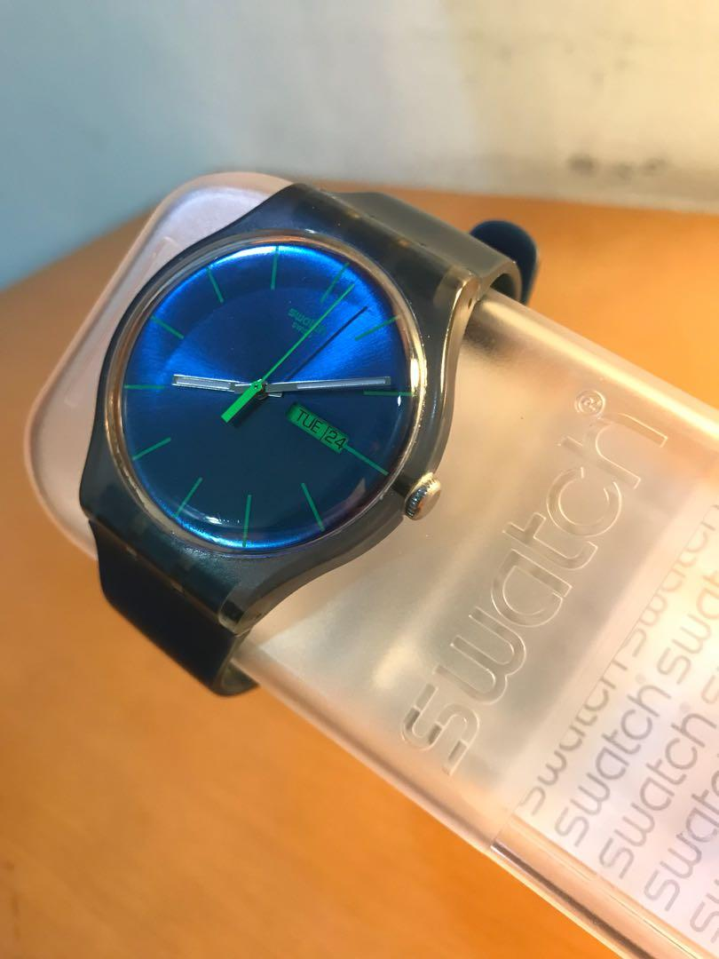 Swatch Blue Rebel SUON700