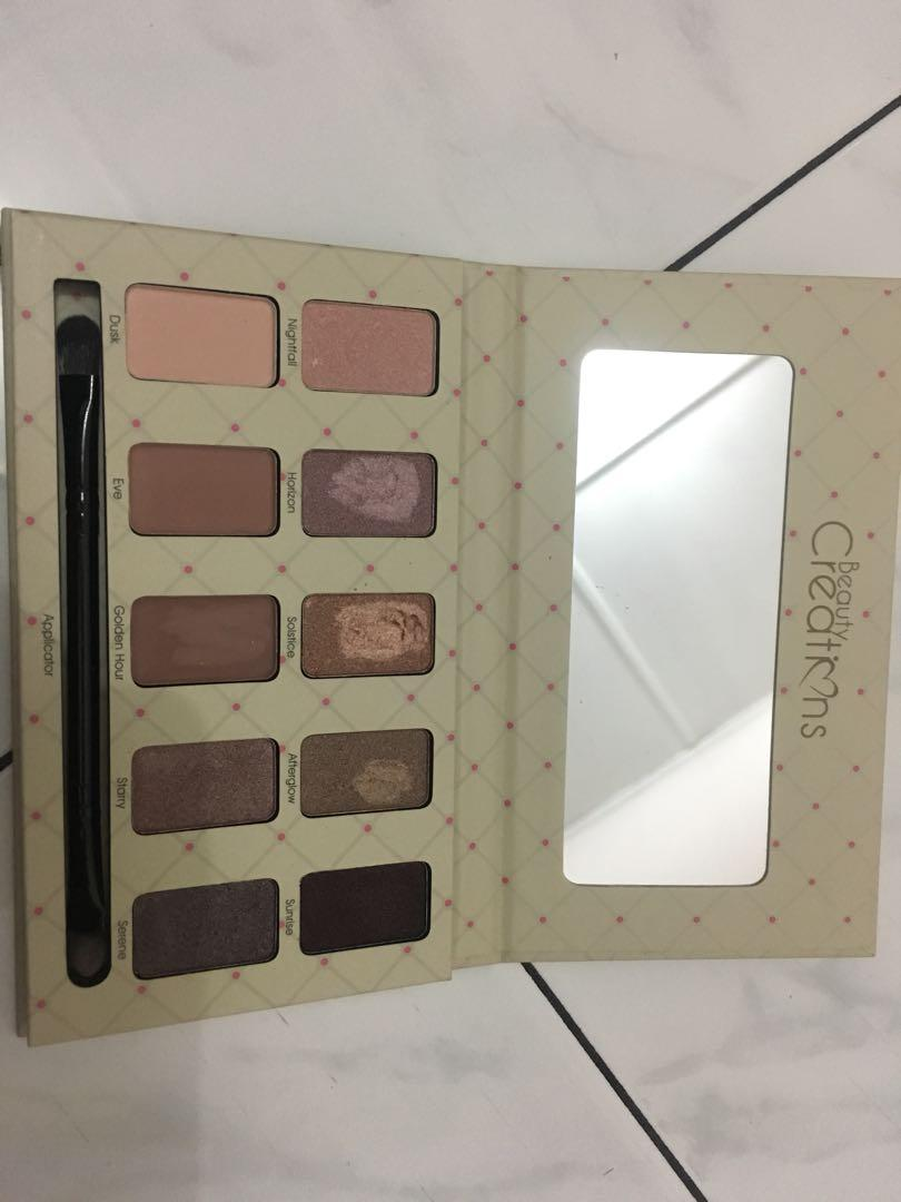 the beauty creations nudes pallete