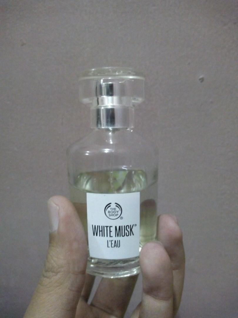 The Body Shop White Musk L'eau EDT 100ml (used)