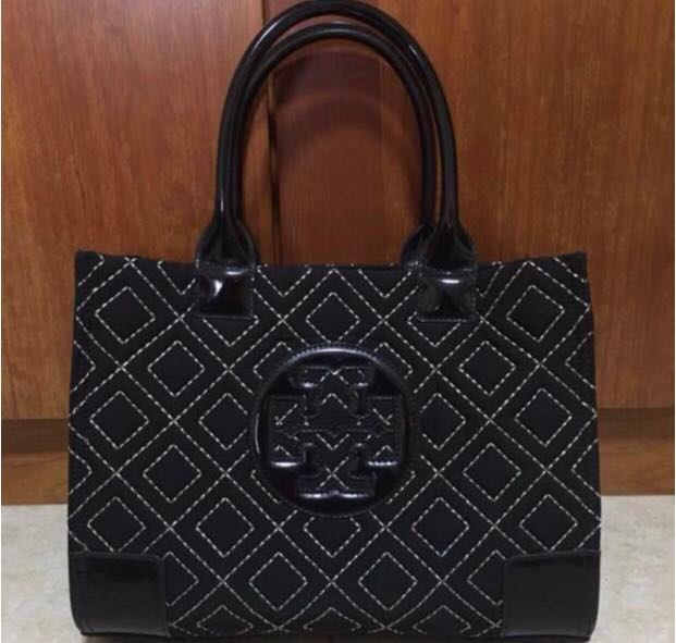 9e7829a0d Tory Burch Mini Ella Quilted Tote Bag, Women's Fashion, Bags & Wallets,  Handbags on Carousell