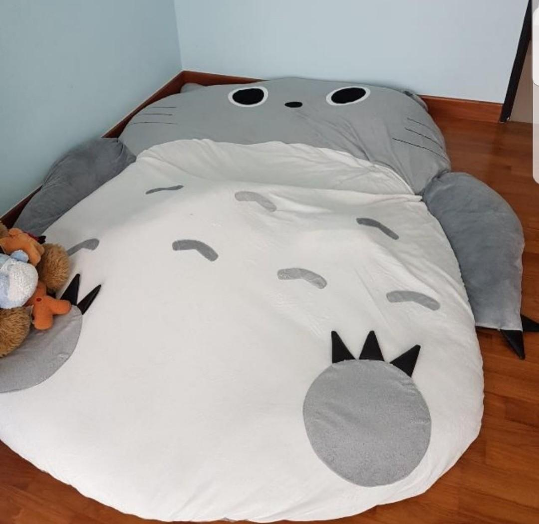 Totoro Double Extra Thick Floor Bed