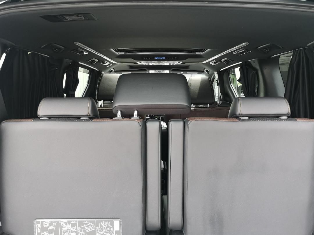 Toyota Alphard 2.5 Type Black - Year 2017 - Unregistered