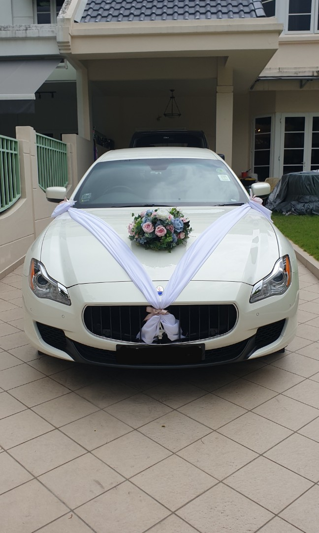 Wedding Car with Chauffeur
